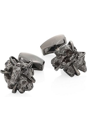 Tateossian Campo Del Cielo Rhodium-Plated Cuff Links