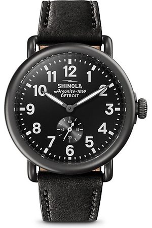 SHINOLA Leather Strap Watch