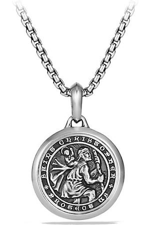David Yurman The Amulets Sterling Silver St. Christopher Amulet