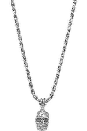 EMANUELE BICOCCHI Sterling Skull Pendant Necklace