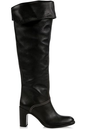 See by Chloé Annia Over-The-Knee Leather Boots