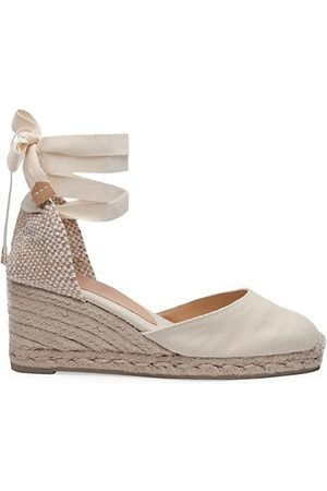 Castaner Carina Canvas Espadrille Wedges