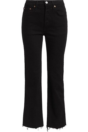 RE/DONE Comfort Stretch High-Rise Stovepipe Jeans