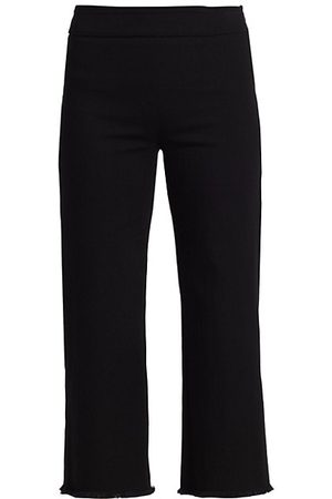 AKRIS Minata Fringe High-Waist Jeans