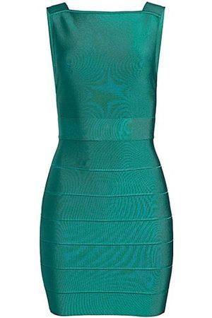 Hervé Léger Backless Mini Dress