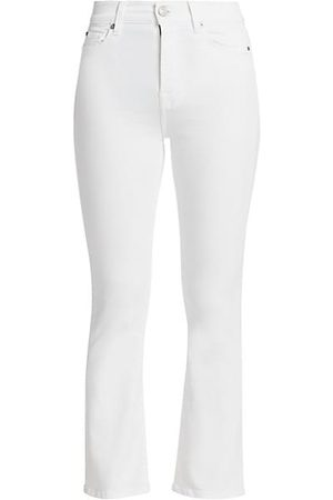 7 for all Mankind High-Rise Slim Kick Jeans