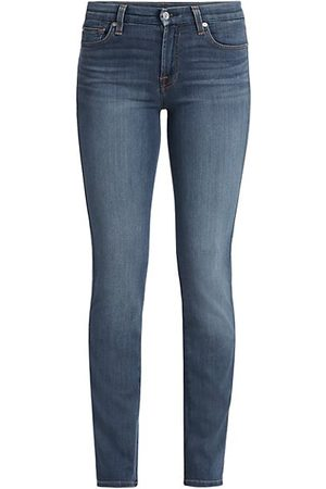 7 for all Mankind Mid-Rise Kimmie Straight Jeans