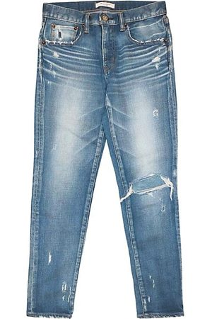Moussy Lenwood Mid-Rise Cropped Skinny Jeans