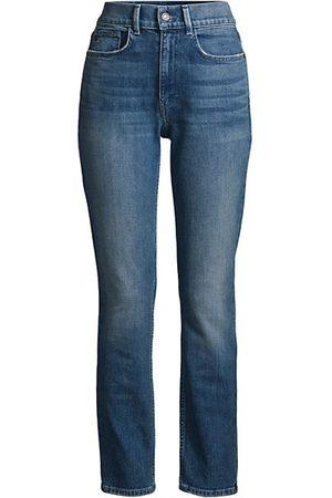 Lafayette 148 New York Women Boyfriend - Reeve High-Rise Straight Ankle Jeans