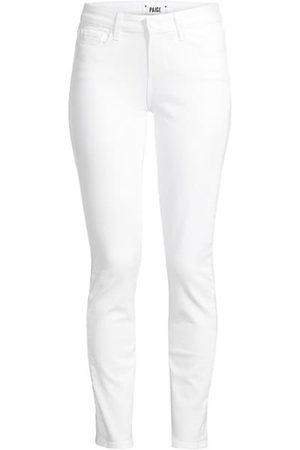 Paige Skyline Mid-Rise Ankle Skinny Jeans