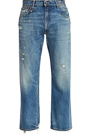 R13 Distressed Boyfriend Jeans