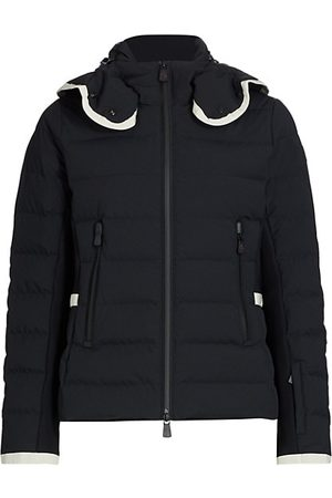 Moncler Lamoura Fitted Down Ski Jacket