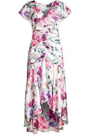 Parker Women Printed Dresses - Charlotte Floral Ruched Dress
