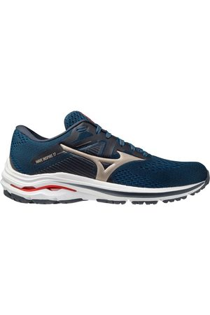 Mizuno Men Sneakers - Wave Inspire 17 - Mens Running Shoes - India Ink/Platinum