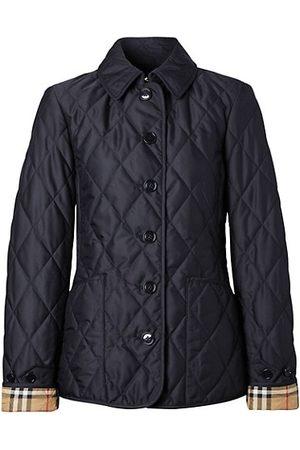 Burberry Women Winter Jackets - Fernleigh Quilted Field Jacket