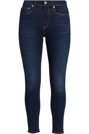 RAG&BONE Nina High-Rise Skinny Ankle Jeans