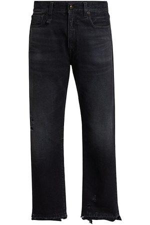 R13 High-Rise Boyfriend Jeans