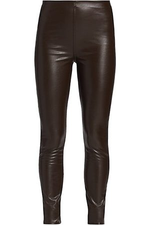 RAG&BONE Nina Faux Leather Pull-On Skinny Pants
