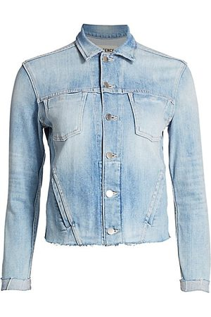 L'Agence Janelle Slim Trucker Jacket