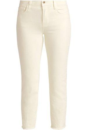 L'Agence Sada High-Rise Crop Slim Jeans