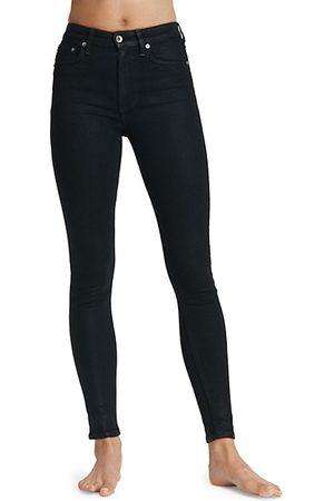 RAG&BONE Nina High-Rise Coated Skinny Jeans