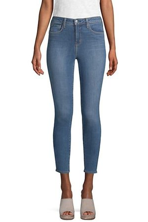 L'Agence Margot High-Rise Ankle Skinny Jeans