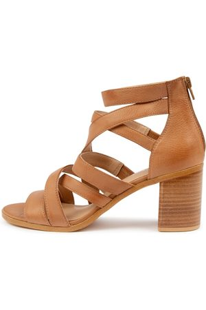 Top end Witt To Dk Tan Sandals Womens Shoes Heeled Sandals