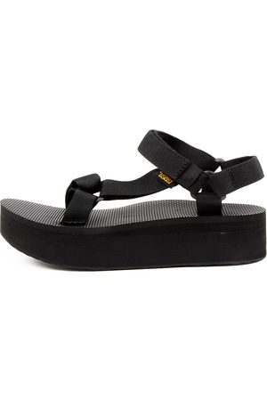 Teva W Flatform Universal Tv Sandals Womens Shoes Casual Sandals Flat Sandals