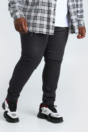 Boohoo Mens Plus Size Super Skinny Jean