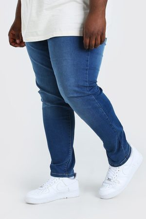 Boohoo Mens Mid Plus Size Skinny Fit Jean