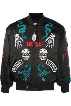 KTZ Patch-detailed bomber jacket