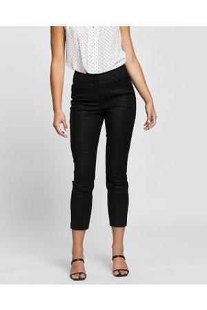 David Lawrence Sarah Compact Cotton Pant - Pants Sarah Compact Cotton Pant