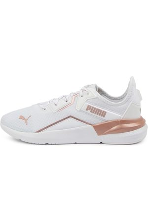 PUMA 193773 Platinum Metallic Pm Rose Sneakers Womens Shoes Active Active Sneakers