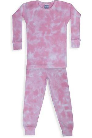 B.Steps by Baby Steps Girls Pyjamas - Baby's, Little Girl's & Girl's Leah 2-Piece Tie-Dye Thermal Pajama Set