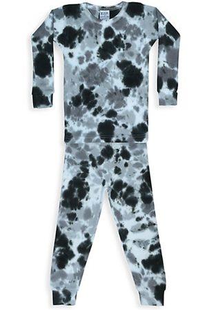 B.Steps by Baby Steps Boys Pyjamas - Baby's, Little Boy's & Boy's 2-Piece Tie-Dye Thermal Pajama Set