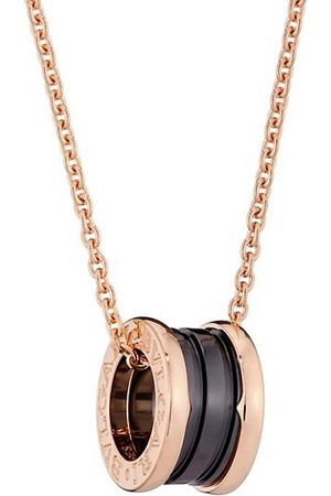 Bvlgari B.zero1 18K & Black Ceramic Necklace
