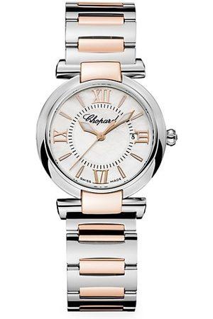Chopard Imperiale 18K , Stainless Steel, Diamond & Amethyst Bracelet Watch