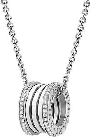 Bvlgari B.zero1 18K & Diamond Pendant Necklace