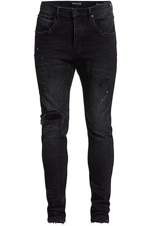 Purple Brand P002 Slim Dropped Fit Repair Jeans