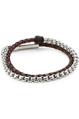 Jonas Studio Men Bracelets - Village Chain Double Wrap Bracelet
