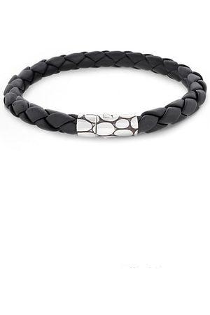 John Hardy Bracelets - Woven Leather Bracelet