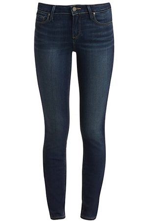 Paige Verdugo Transcend Mid-Rise Ankle Skinny Jeans