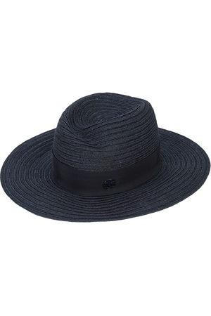 Le Mont St Michel Logo plaque panama hat