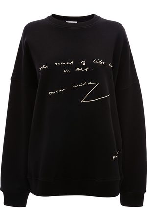 J.W.Anderson Sweatshirts - Slogan print sweatshirt