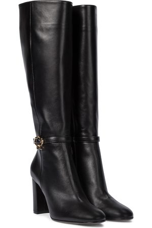 Gianvito Rossi Ribbon 85 knee-high leather boots