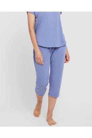 Bamboo Body Women Pyjamas - 3 4 PJ Pant - Sleepwear (Lavender) 3-4 PJ Pant