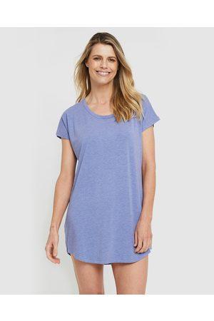 Bamboo Body Women Nightdresses & Shirts - Niah Night Dress - Sleepwear (Lavender) Niah Night Dress