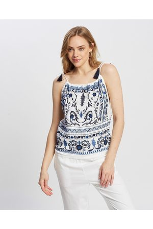 Kaja Clothing Danni Top - Tops ( with Embroidery) Danni Top