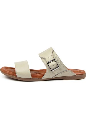 Colorado Denim Kinsleigh Cf Stone Sandals Womens Shoes Sandals Flat Sandals