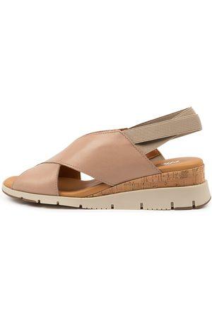 Effegie Basquait W Sandshell Sandals Womens Shoes Comfort Heeled Sandals